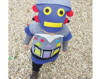 child music robot costume for baby toddler