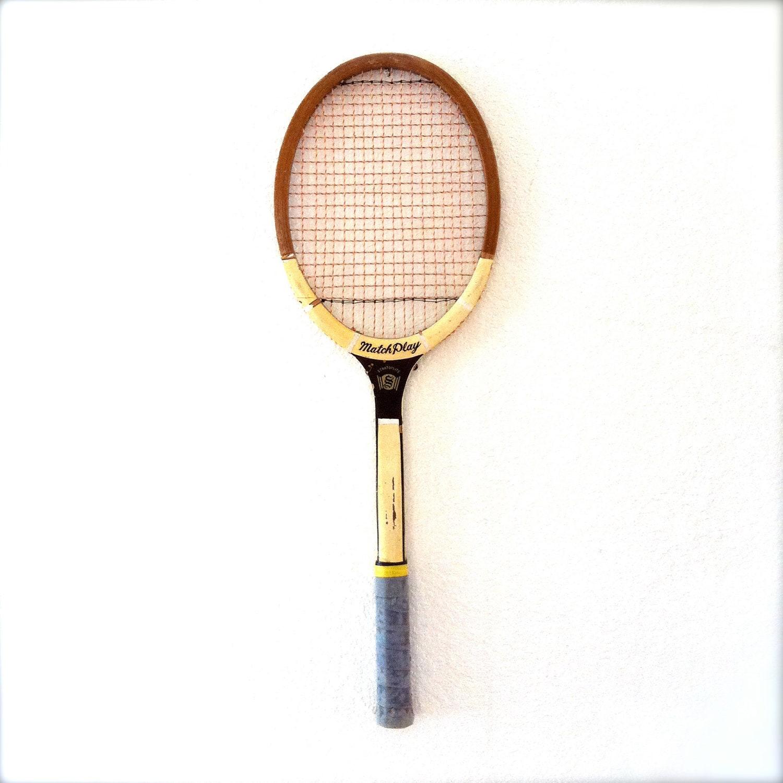 Vintage Tennis Raquet 10