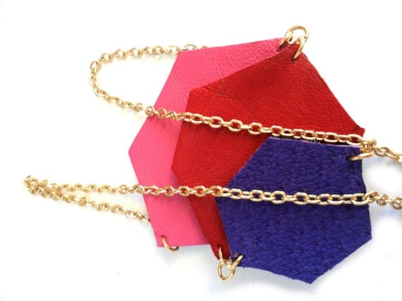 https://www.etsy.com/listing/117209079/leather-necklace-in-pink-red-and-purple