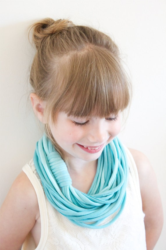 Jr. Ombre Infinity Scarf - Turquoise