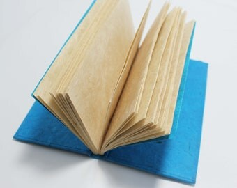 Handmade Journal / Notebook / Diary Lokta Paper Eco Friendly w/ color variations