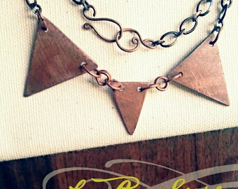 Celebrate Every Day Copper Pipe Necklace