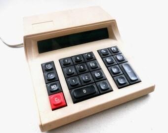 Soviet Vintage calculator  ELEKTRONIKA SZ22 Vintage electronics USSR era 1970s