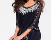 """Yara Yosif Original """"Muna"""" Kaftan Caftan abaya jalabiya Eid Ramadan Henna maxi resort wear hijabi beach wear Dubai Kardashian dress"""