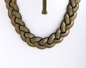 Braided Metal Necklace