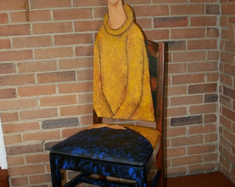 "Modigliani's ""Jeanne Heburterne in a Yellow Sweater"""