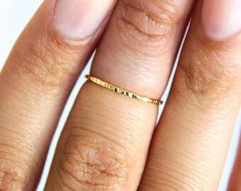 Knuckle Ring Adjustable Midi Finger Ring