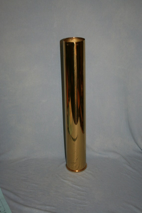 Harley Davidson Of Dallas >> World War II 76 mm M26 Cannon Brass Shell Casing 1944 Pershing