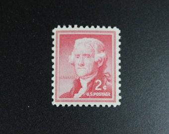 1033 Jefferson Vintage Stamps (100)