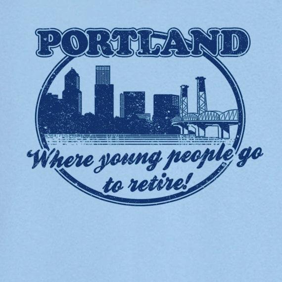 Portland city pride funny novelty t shirt z12488 for T shirt printing in portland oregon