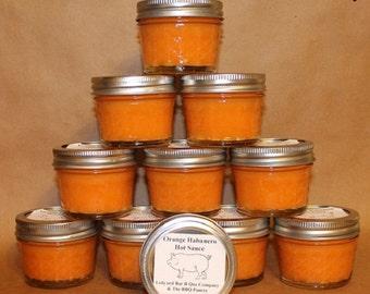 Orange Habanero Hot Sauce 16oz. from Ledyard Bar B Que Company  Chili Heads Will Love This Sauce