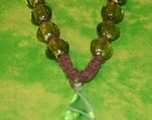 green envy necklace(CLEARANCE)