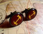 The Simpsons Stonecutters Bronze Cufflinks