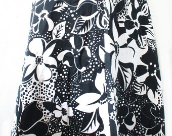 Vintage skirt floral print