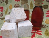 Maple Marshmallows - 1 dozen Gourmet homemade marshmallows