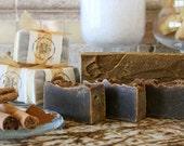 1 bar Cinn-O-Man: natural, handmade soap with cinnamon & essential oils