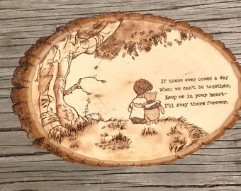 Winnie the Pooh Quote Plaque