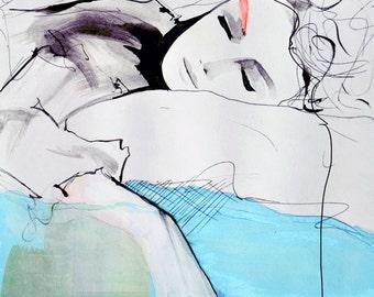Maddelina - Illustration Art Print