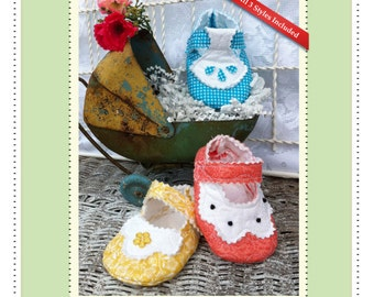 PDF Pattern Quilted Baby Two Tone  Adorable and Fun to make-Instant Download
