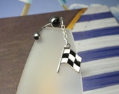 Race Day Belly Button Ring
