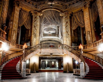"Chicago Neglected Beauty, Fine Art, Architecture surreal color photography ""The Grand"""