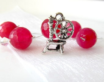 Sleeping Beauty - Fairy Tale Series - Five Handmade Stitch Markers - 6.5 mm (10.5 US) - Limited Edition