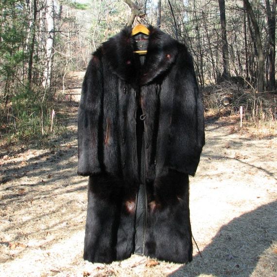 RESERVED for WILLIAM TAYLOR Vintage Bear Fur by VintageCreekside