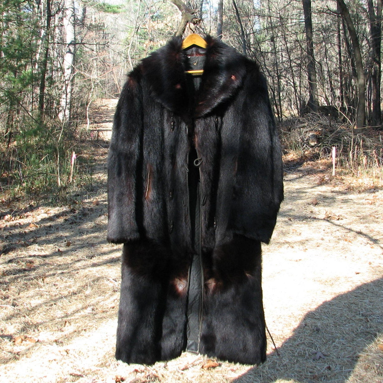 Reserved For William Taylor Vintage Bear Fur Coat Physicians