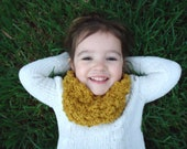 Toddler Infinity Cowl Scarf Organic Cotton Crochet