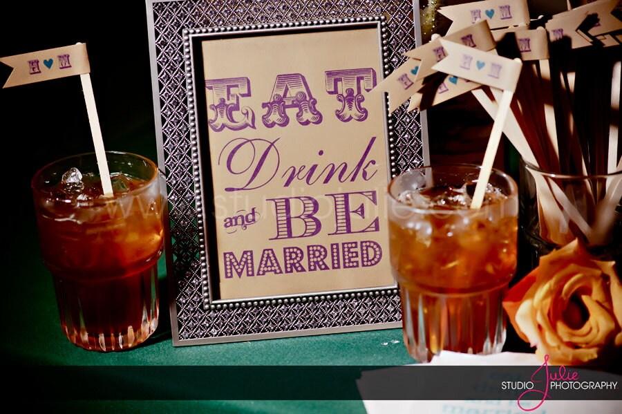 wedding cigars table signage unframed bejod