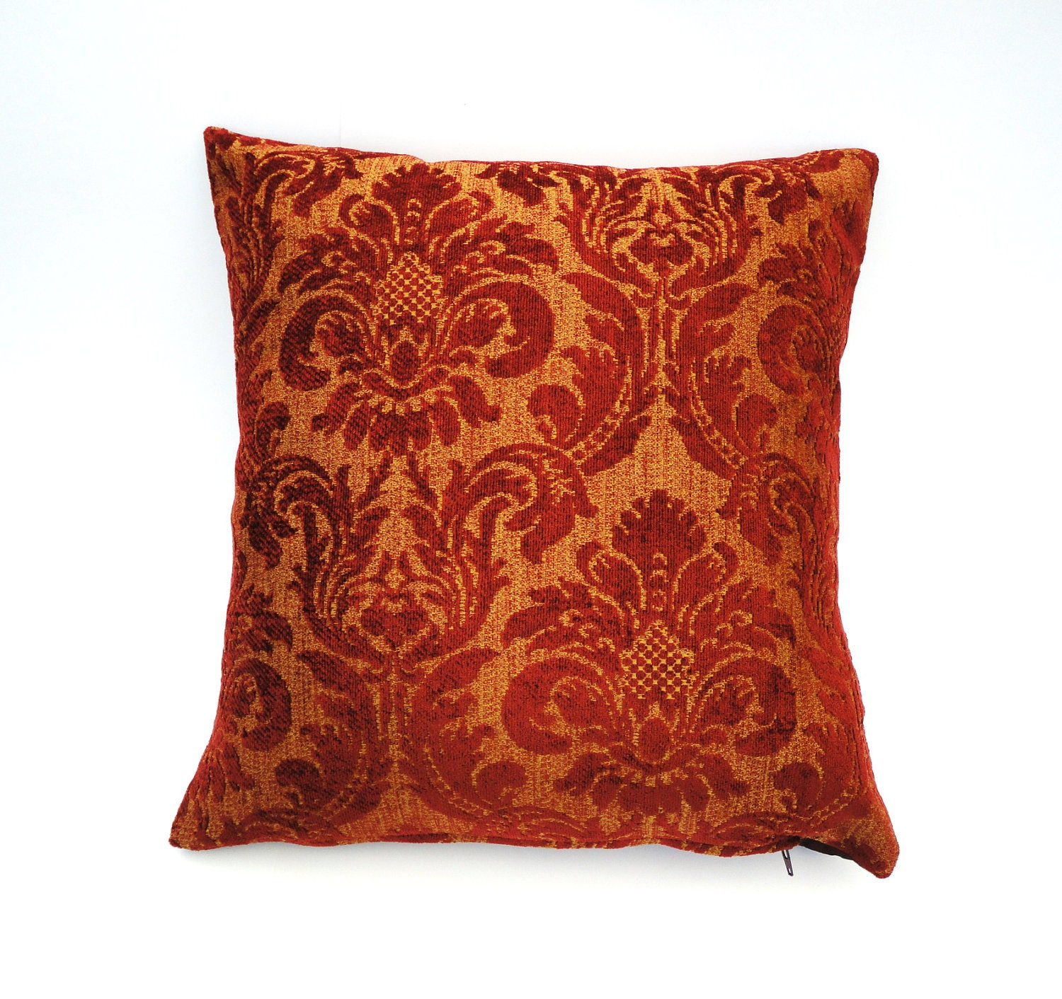 Burgundy Colored Throw Pillows : Decorative Pillow Cover Burgundy Venetian by chantalmarieliving