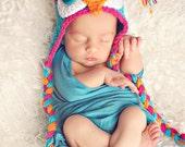 Owl Hat Crocheted/Newborn-4T/ Photography Prop/ cbbcreations