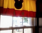 Mickey Mouse Curtain Valance