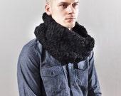 The Go Cowl - Chunky Crochet in Black