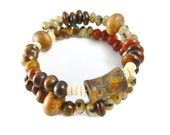 Ethnic Bracelet, Stack Bracelet, Bracelet Stack, Organic Earthy Bracelet