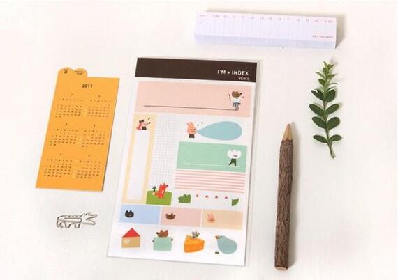 I'M  Index Sticker - ver. 1 ( 2 sheets )