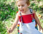 Flower Child Apron Dress