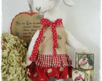 "PDF Instant Download - Pattern / E-Book Goat "" SCHNUCKI "" :) - 12 Inch - by Eileen Seifert - Teddy-Manufaktur.de"