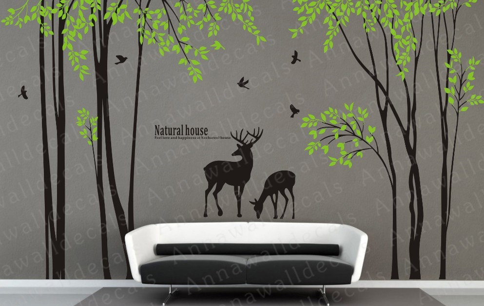 Etsy wall decal tree