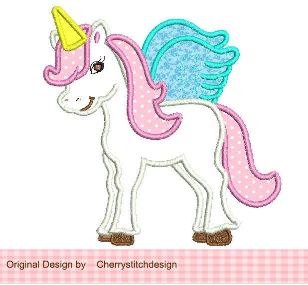 applique unicorn