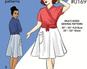 Pavlova Wrap Top & Skirt - Cake Patterns #0169