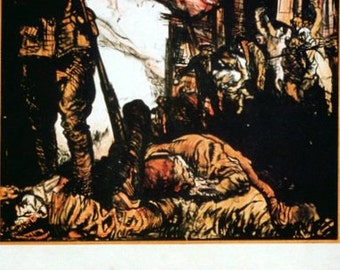 Art Print World War I British Propaganda Poster Print