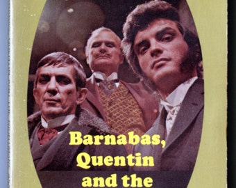 Dark Shadows, Book, Barnabas, Quentin and the Nightmare Assassin, Marilyn Ross, Barnabas Collins, TV Show, Gothic Book, Jonathan Frid, 1970