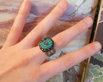 Hobbit door ring