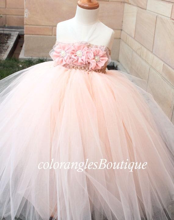 Baby Tutu Dress For Wedding Flower Girl Dress Baby Tutu