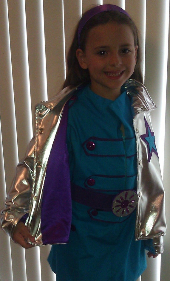 RESERVED-Custom Order- MARINA Rockstar Outfit - 4 Piece Music Band Costume Set