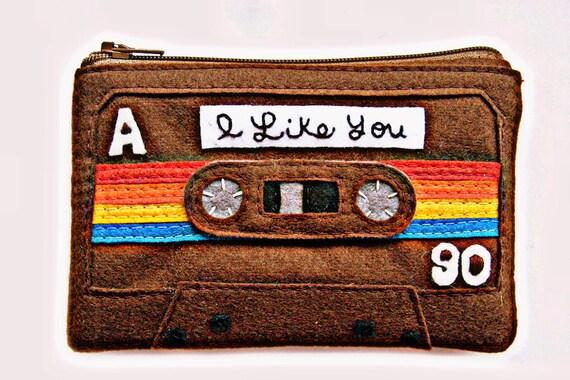 Mix Tape Coin Purse - I Like You