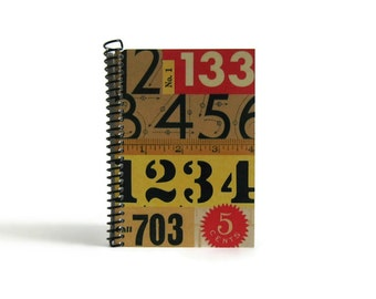 Numbers - Notebook Spiral Bound - 4x6in