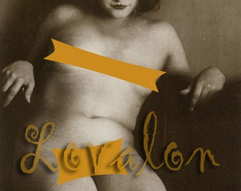 MATURE... Haunting Beauty...   Instant Digital Download... Vintage Nude Photo... Erotic Photography Image by Lovalon