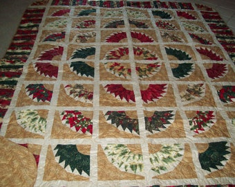 Christmas Queen Size Quilt